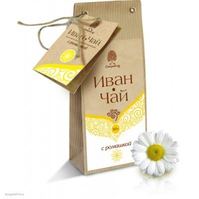 """Чайный напиток """"Иван чай"""" с ромашкой 50 гр."""