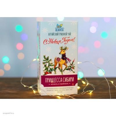 Принцесса Сибири, травяной чай в пирамидках, (30 г)