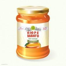 Пюре манго без сахара, ст.б, 250г