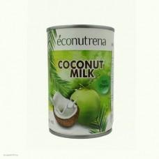 """Молоко кокосовое органическое, """"Econutrena"""", жирность 17%, 400мл"""