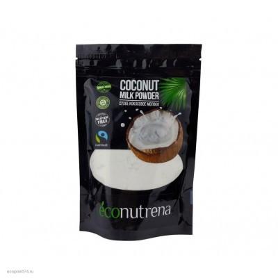 Молоко кокосовое сухое econutrena 150 гр.