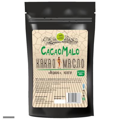 "Какао-масло нерафинированной ""Cacao Malo"" 200гр."