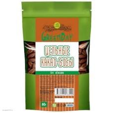 Какао-бобы цельные необжаренные,  300г